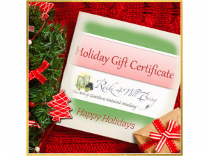 Holiday e-Gift Certificate
